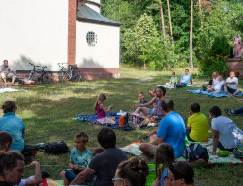 Picknick-Gottesdienst der Kommunionfamilien