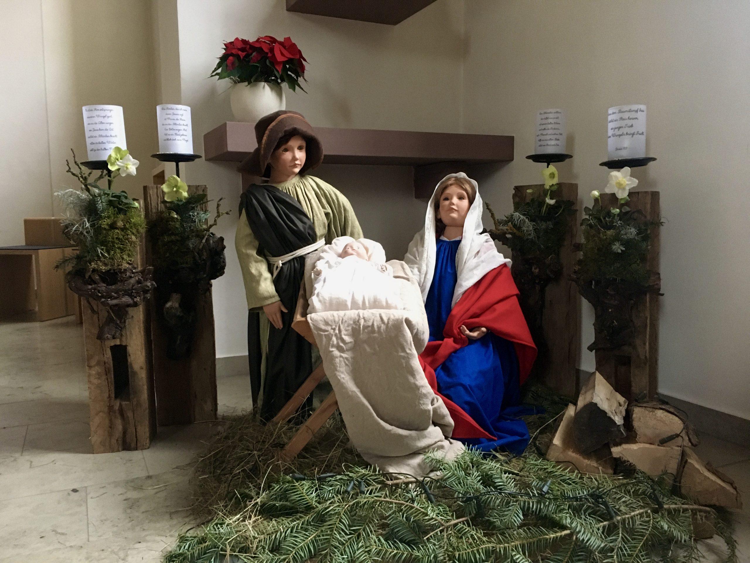 Weihnachtskrippe St. Barbara