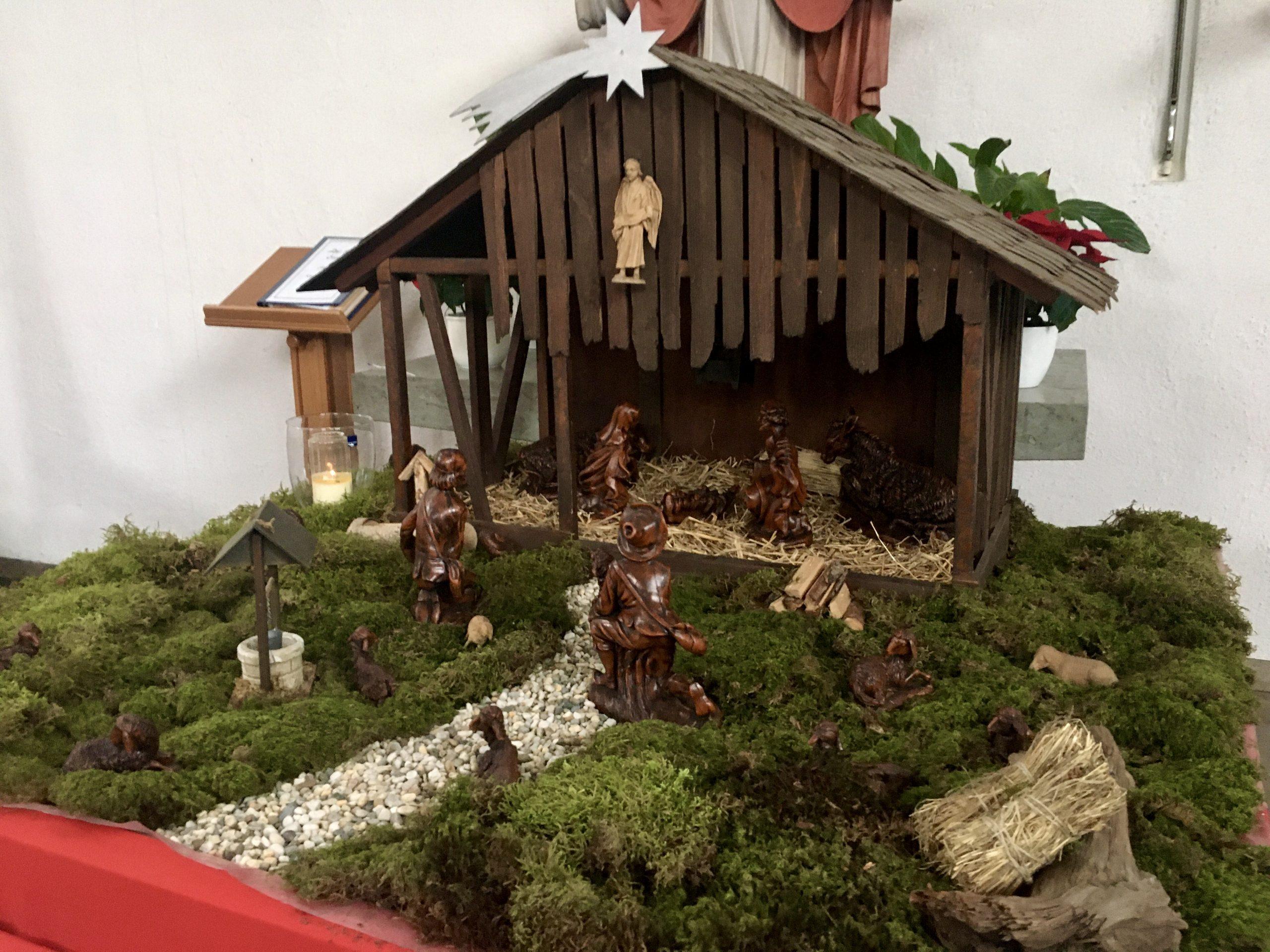 Weihnachtskrippe St. Cyriakus