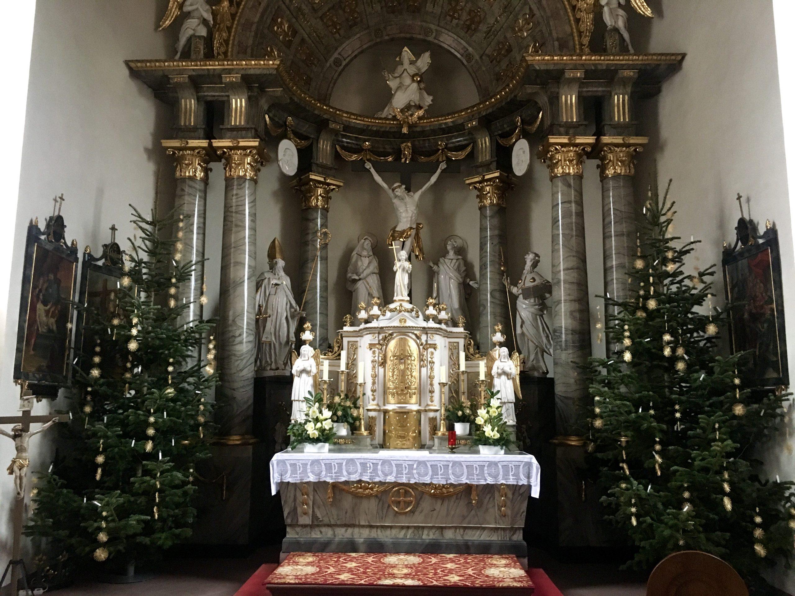 Altarraum St. Jakobus
