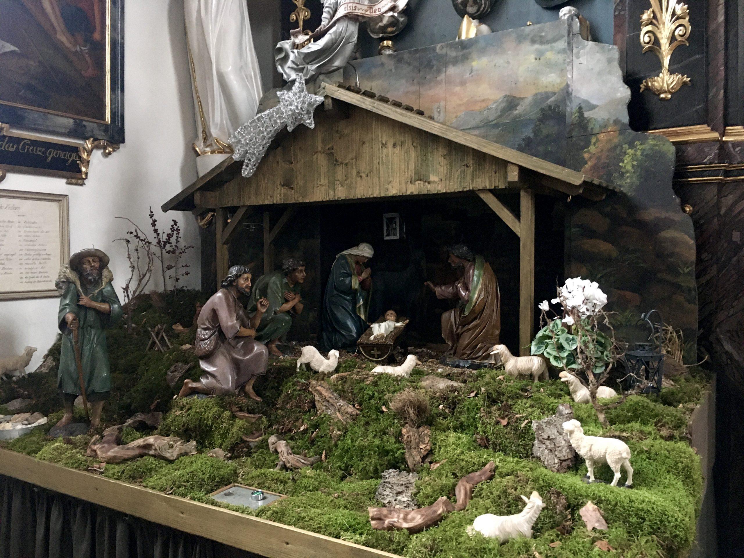 Weihnachtskrippe St. Jakobus