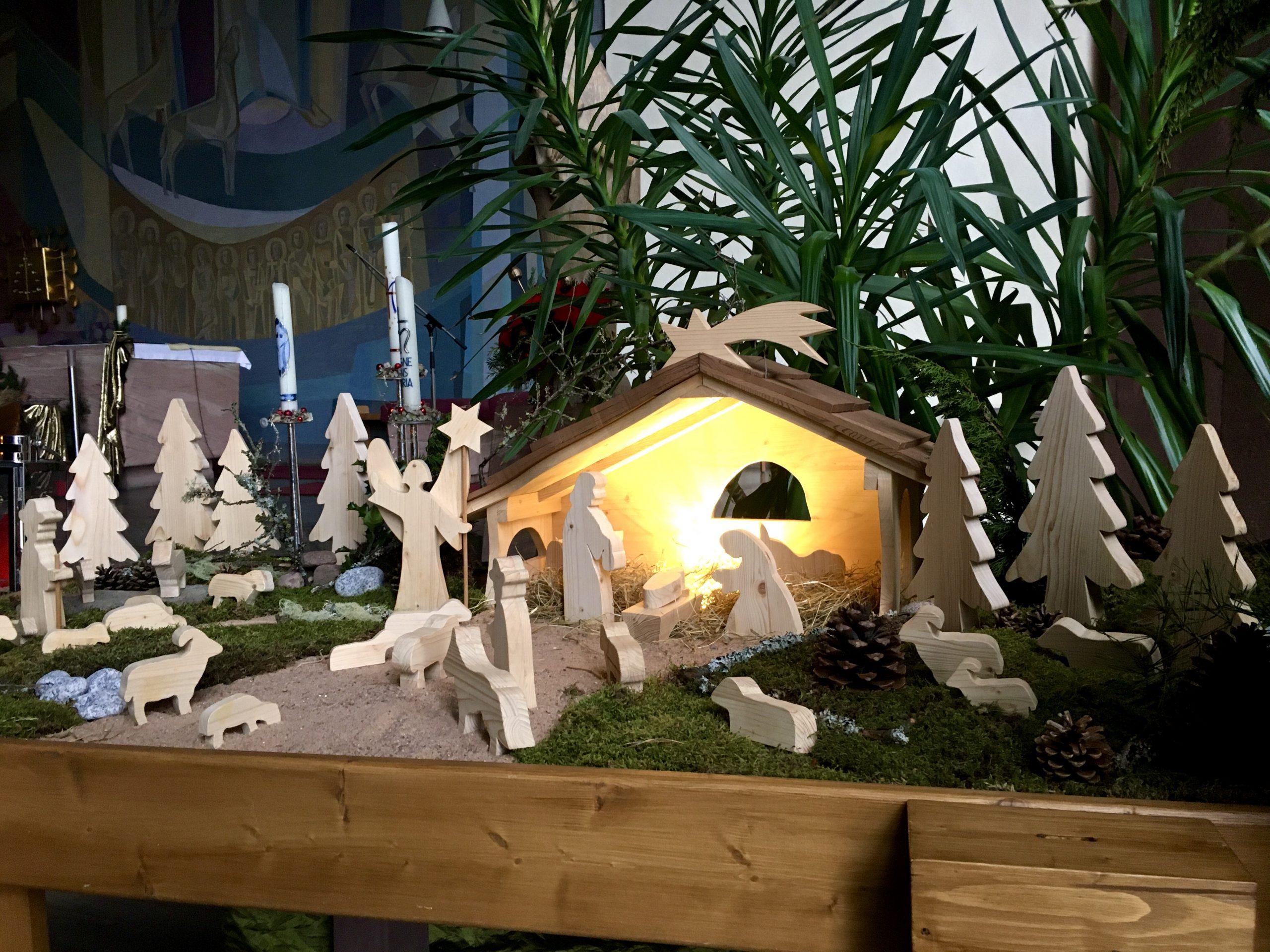 Weihnachtskrippe St. Josef d. Arbeiter