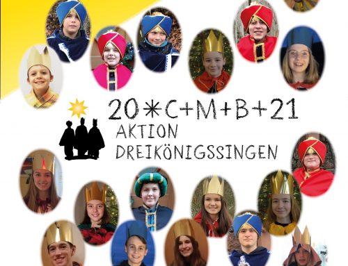 Sternsingeraktion 2021 in Hafenlohr und Windheim