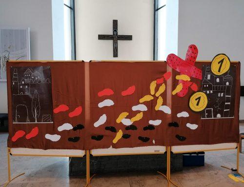 Mitmach-Gottesdienst zum 5. Fastensonntag